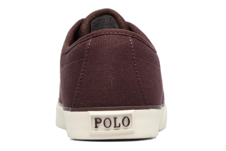 Baskets Polo Ralph Lauren Halford Violet vue droite