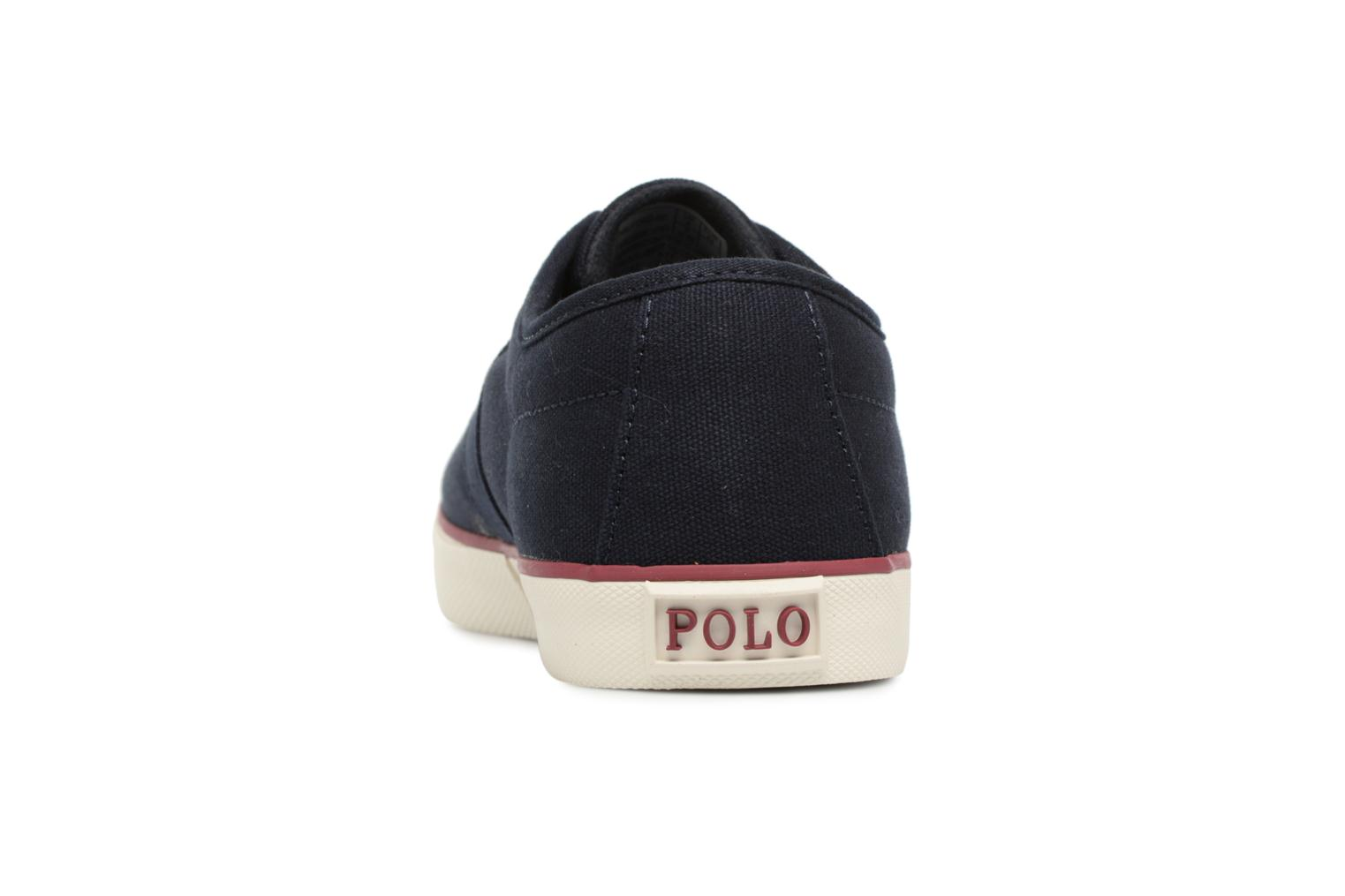 Trainers Polo Ralph Lauren Halford Blue view from the right