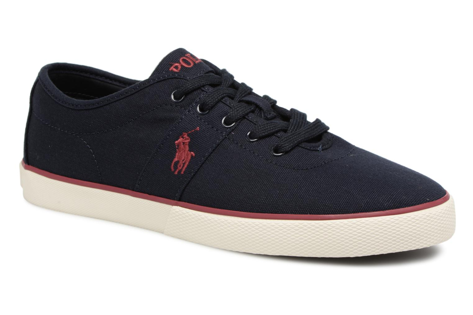 Trainers Polo Ralph Lauren Halford Blue detailed view/ Pair view