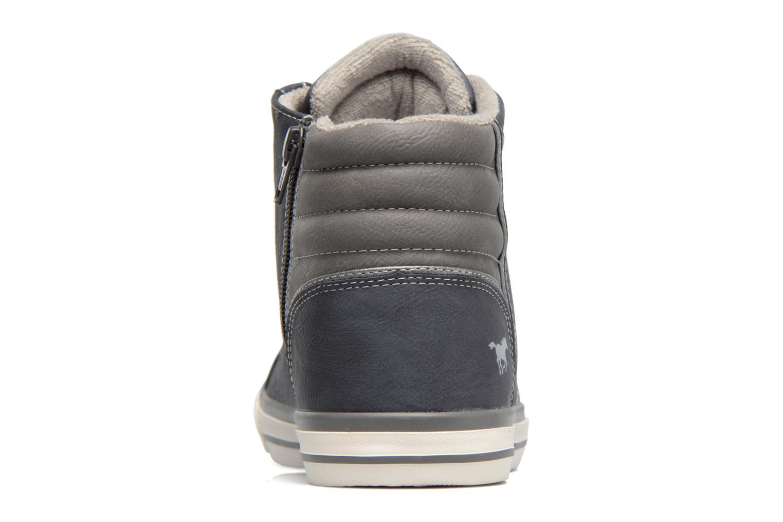 Baskets Mustang shoes Lasselet Gris vue droite