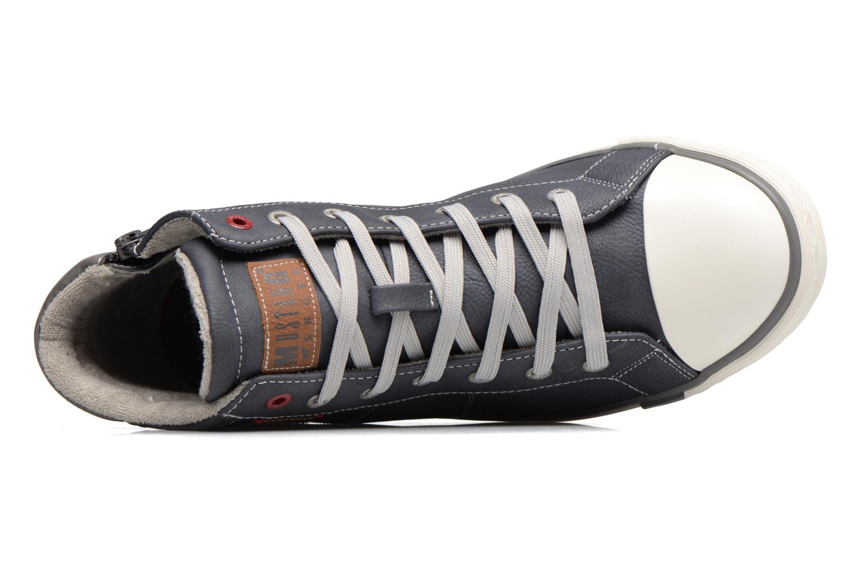 Baskets Mustang shoes Lasselet Gris vue gauche