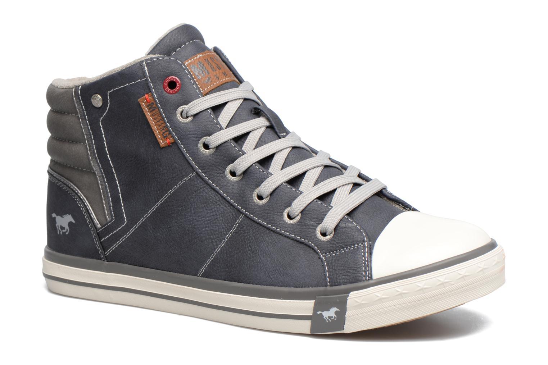 Baskets Mustang shoes Lasselet Gris vue détail/paire