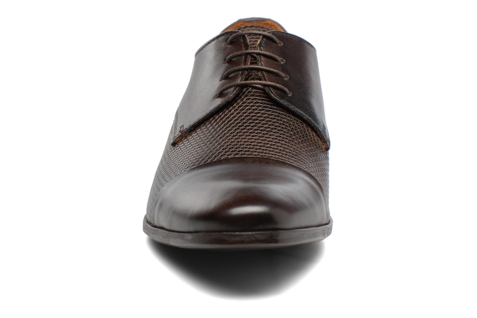 Lace-up shoes Marvin&co Nutley Brown model view