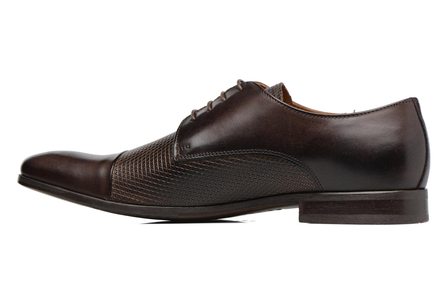 Lace-up shoes Marvin&co Nutley Brown front view