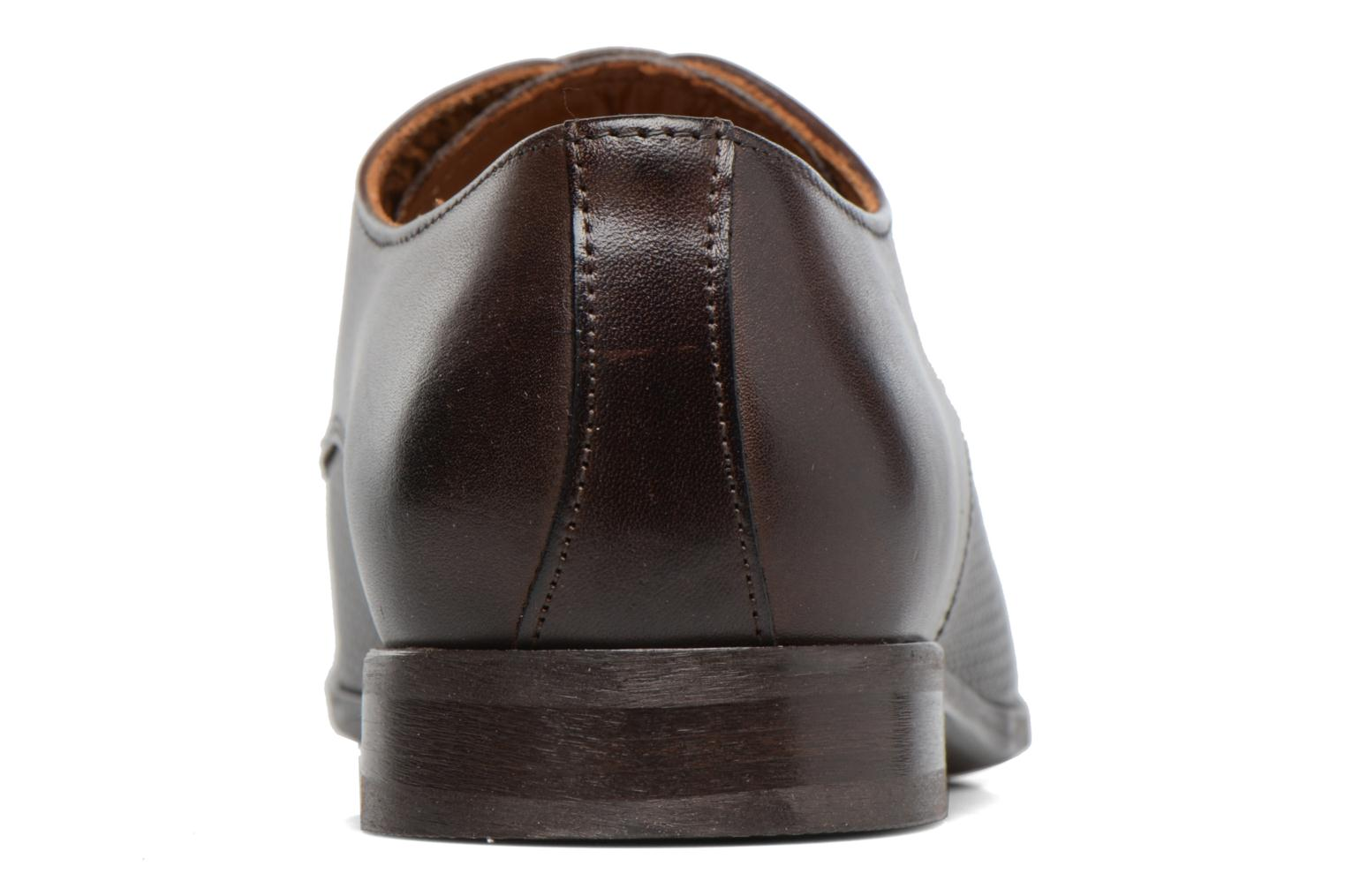 Lace-up shoes Marvin&co Nutley Brown view from the right