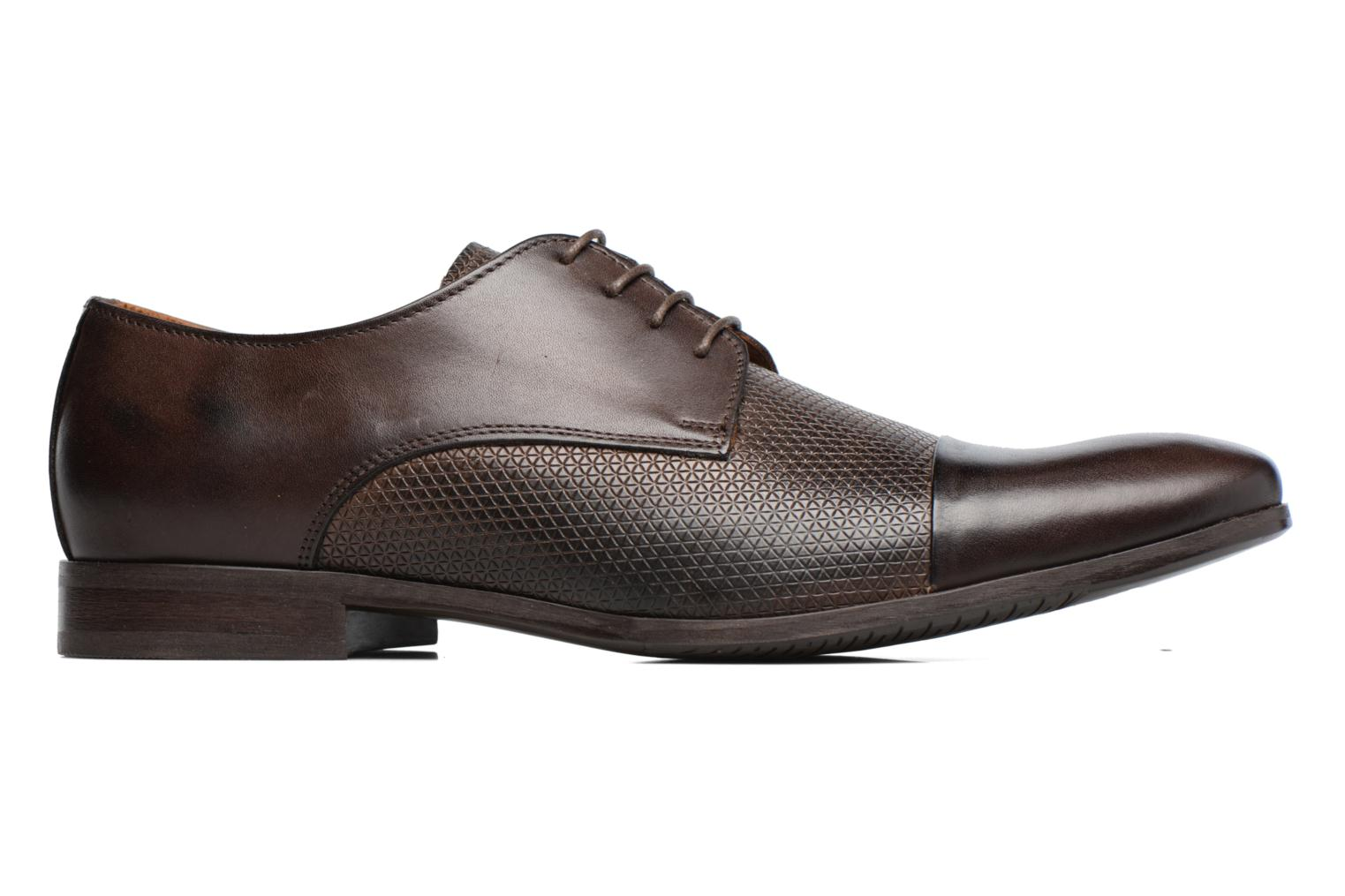 Lace-up shoes Marvin&co Nutley Brown back view