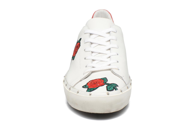 Baskets Rebecca Minkoff Michell Rose Nappa Blanc vue portées chaussures