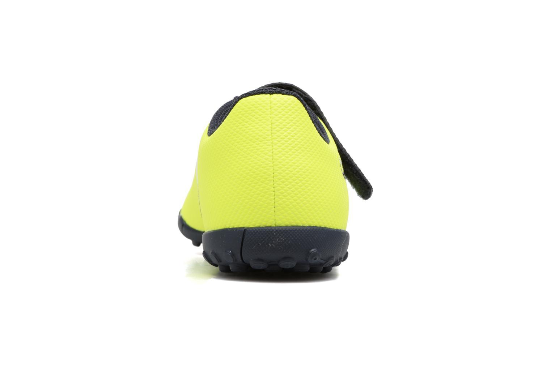 Chaussures de sport Adidas Performance X 17.4 Tf J H&L Jaune vue droite