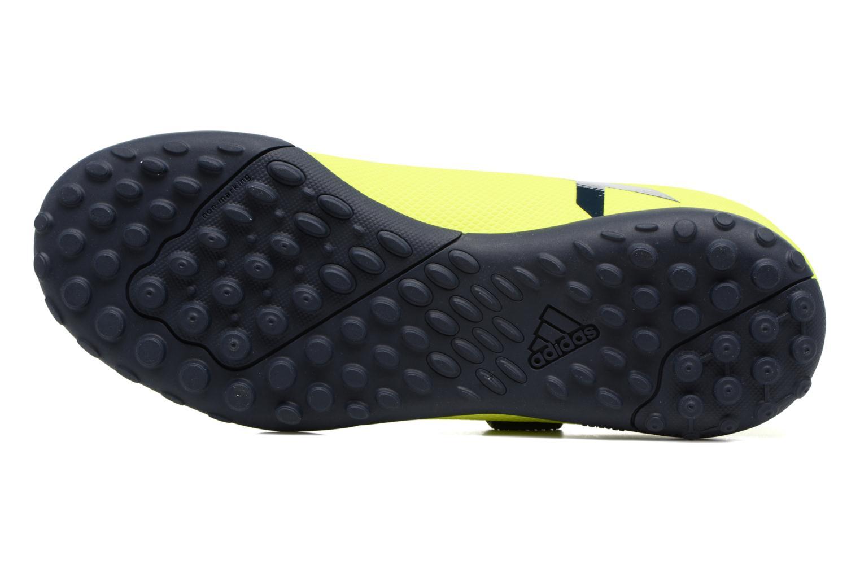 Chaussures de sport Adidas Performance X 17.4 Tf J H&L Jaune vue haut