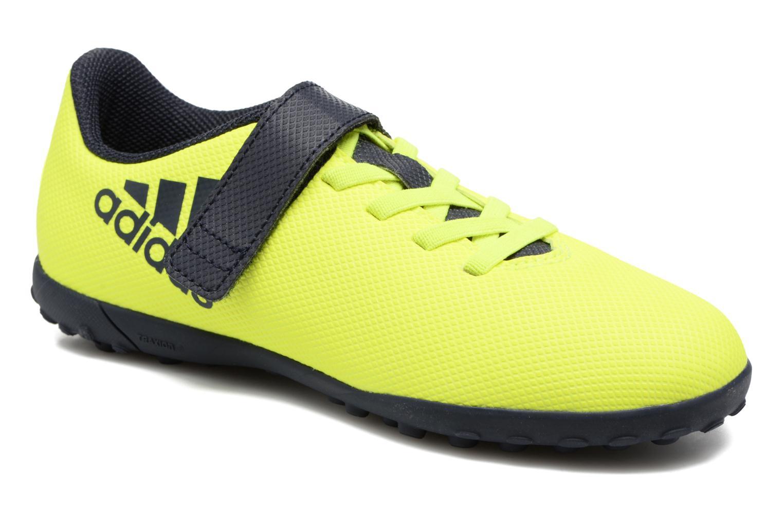 Chaussures de sport Adidas Performance X 17.4 Tf J H&L Jaune vue détail/paire