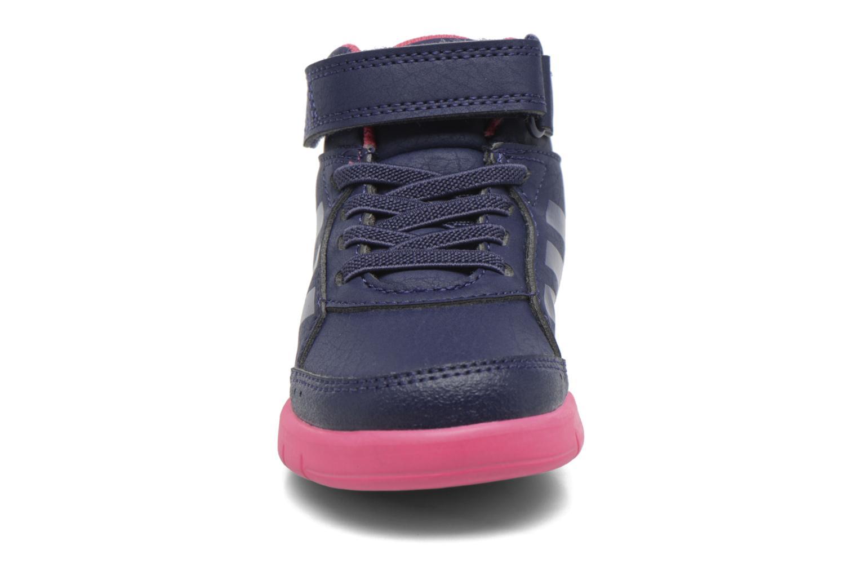 Baskets Adidas Performance Altasport Mid El I Violet vue portées chaussures