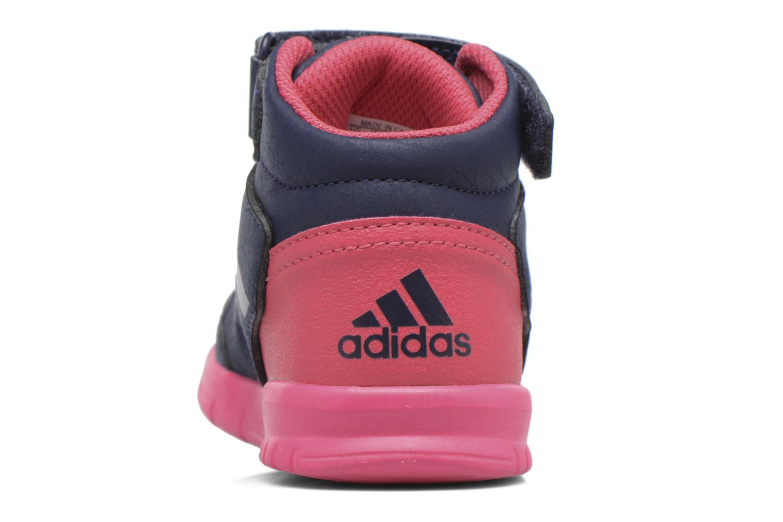 Baskets Adidas Performance Altasport Mid El I Violet vue gauche