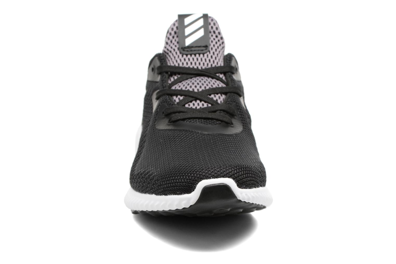 Sneaker Adidas Performance Alphabounce J schwarz schuhe getragen