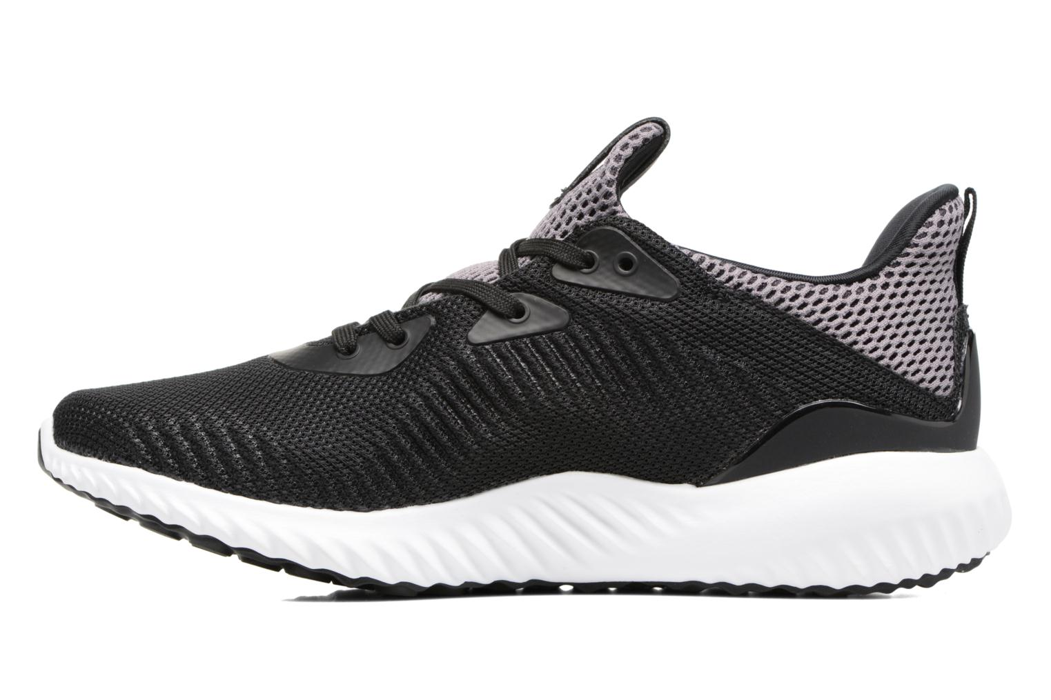 Trainers Adidas Performance Alphabounce J Black front view