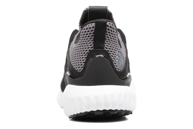 Baskets Adidas Performance Alphabounce J Noir vue droite