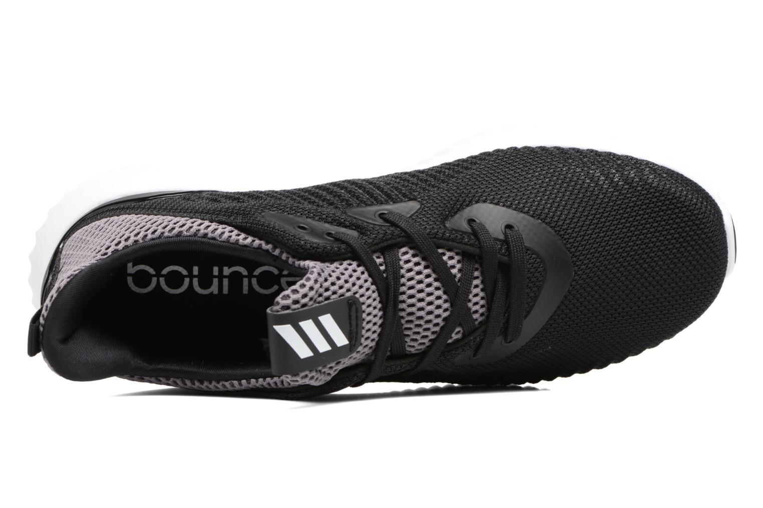 Trainers Adidas Performance Alphabounce J Black view from the left