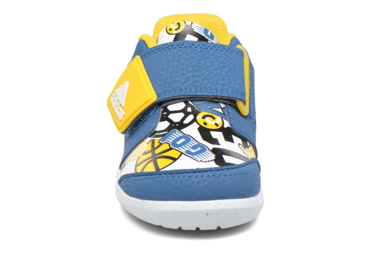 Baskets Adidas Performance Fortaplay Ac I Bleu vue portées chaussures