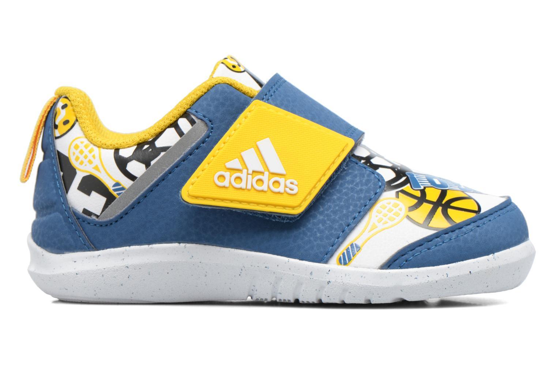 Baskets Adidas Performance Fortaplay Ac I Bleu vue derrière