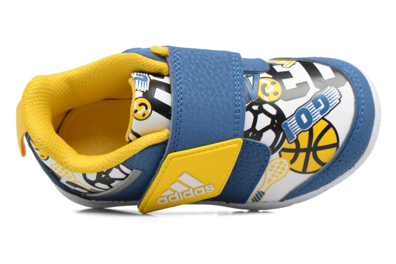 Baskets Adidas Performance Fortaplay Ac I Bleu vue gauche
