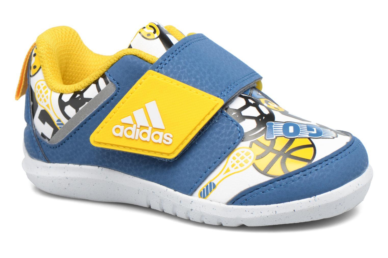 Baskets Adidas Performance Fortaplay Ac I Bleu vue détail/paire