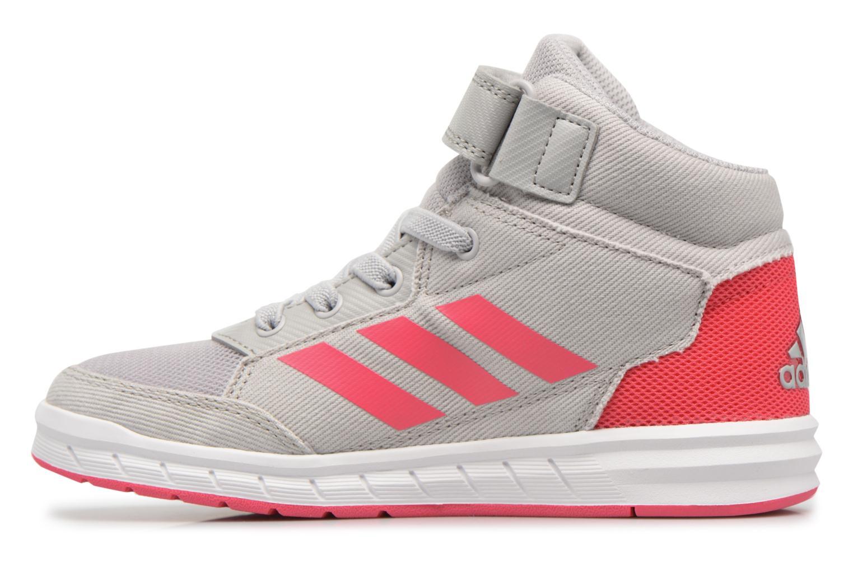 Sneakers Adidas Performance Altasport Mid El K Grijs voorkant