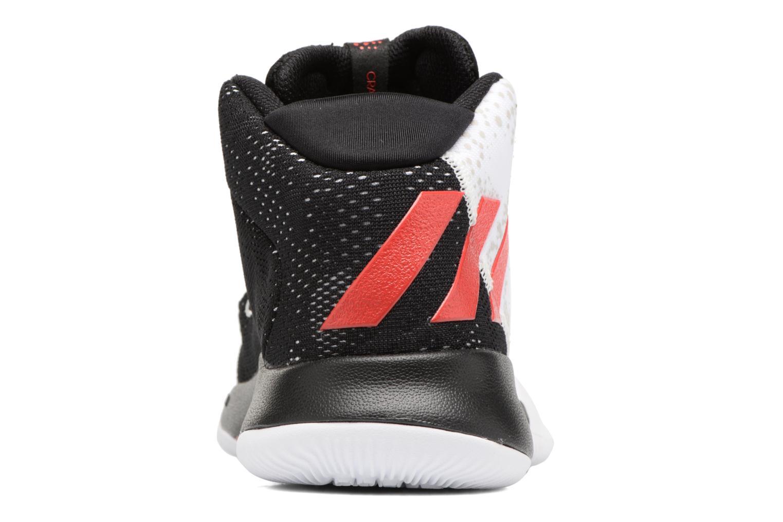 Chaussures de sport Adidas Performance Crazy Heat J Blanc vue droite