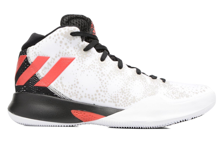 Chaussures de sport Adidas Performance Crazy Heat J Blanc vue derrière