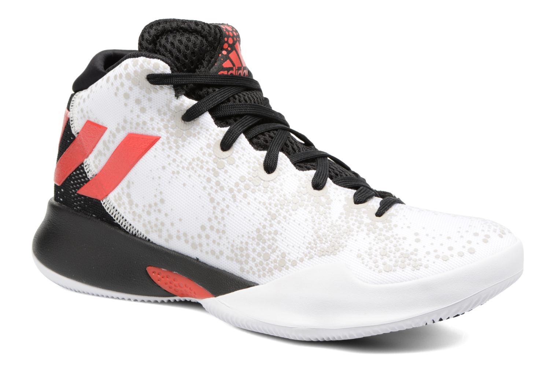Chaussures de sport Adidas Performance Crazy Heat J Blanc vue détail/paire