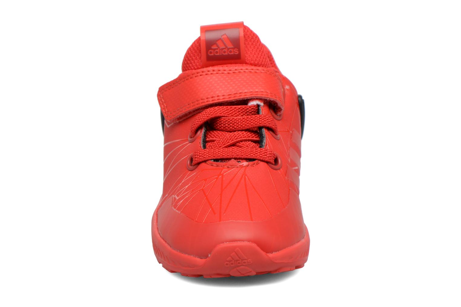 Trainers Adidas Performance Spider-Man Rapidarun I Red model view