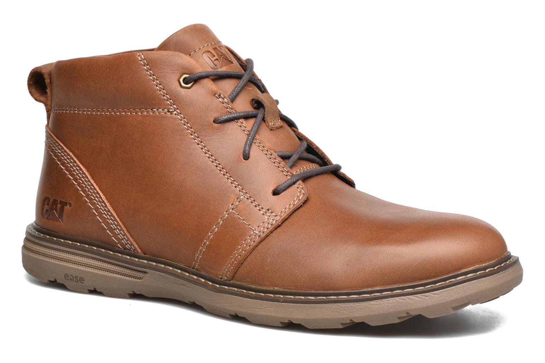 Boots en enkellaarsjes Caterpillar Trey Bruin detail