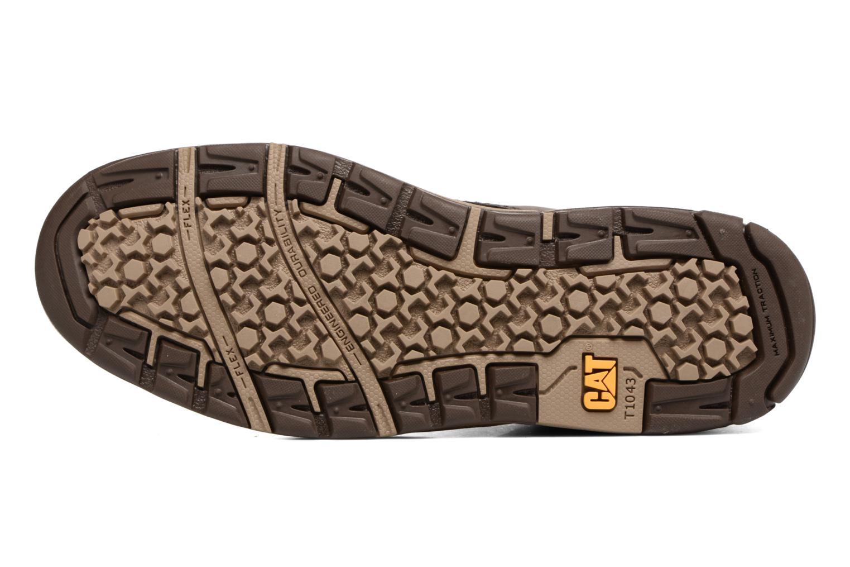 Bottines et boots Caterpillar Colfax Mid Pack Marron vue haut