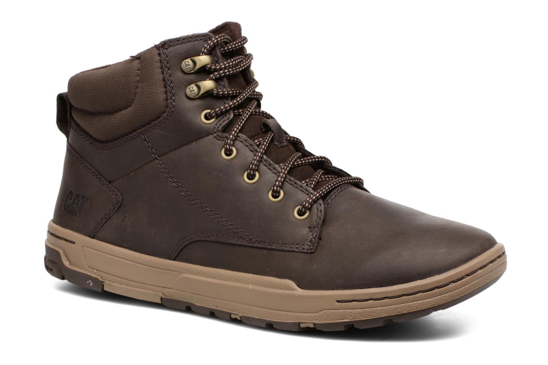 Bottines et boots Caterpillar Colfax Mid Pack Marron vue détail/paire