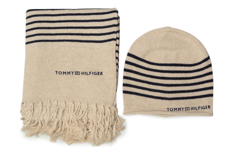 Divers Tommy Hilfiger Tommy Stripe Giftpack Beige vue détail/paire