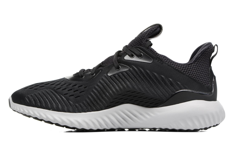 Sport shoes Adidas Performance Alphabounce Em M Black front view