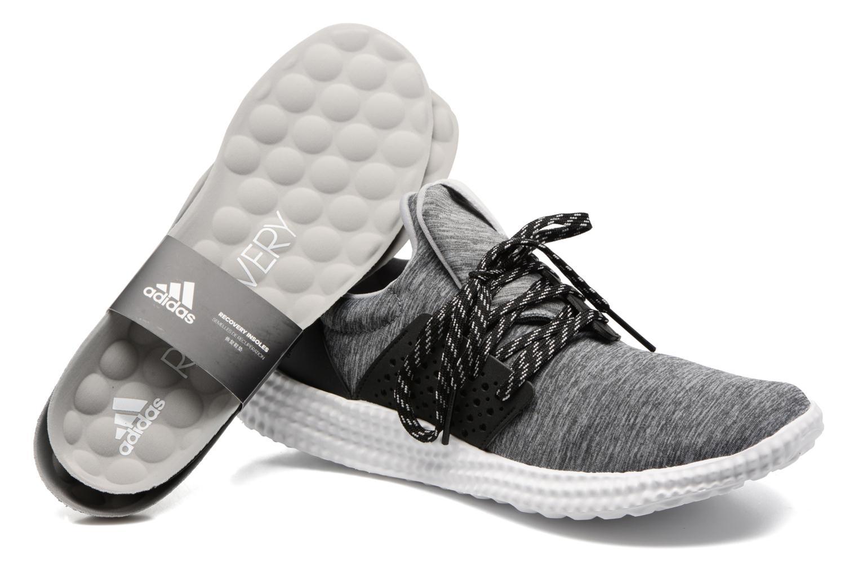 Sport shoes Adidas Performance Adidas Athletics 24/7 W Grey 3/4 view