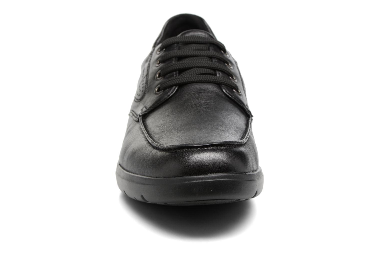 Baskets Geox U Leitan B U743QB Noir vue portées chaussures