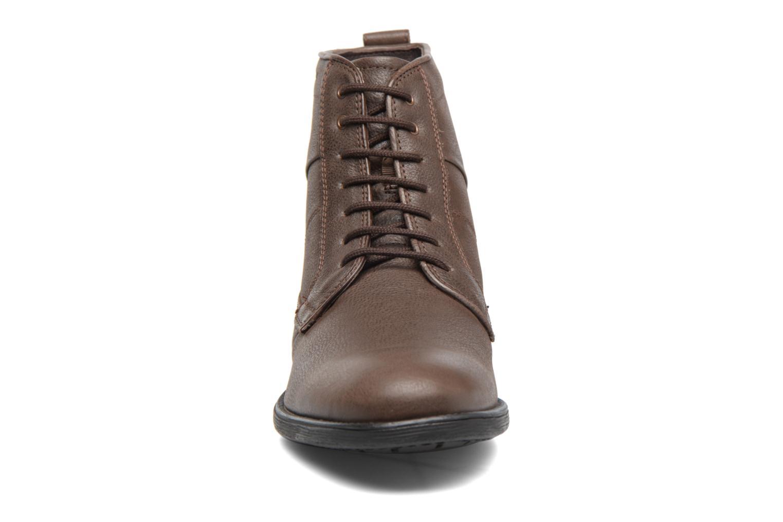 Bottines et boots Geox U Jaylon C U74Y7C Marron vue portées chaussures