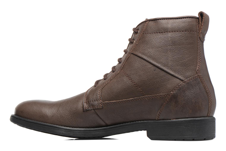 Boots en enkellaarsjes Geox U Jaylon C U74Y7C Bruin voorkant