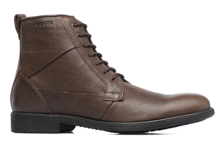 Boots en enkellaarsjes Geox U Jaylon C U74Y7C Bruin achterkant
