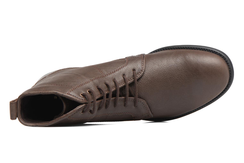 Boots en enkellaarsjes Geox U Jaylon C U74Y7C Bruin links