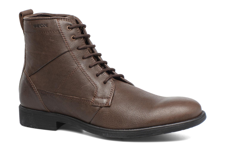 Boots en enkellaarsjes Geox U Jaylon C U74Y7C Bruin detail