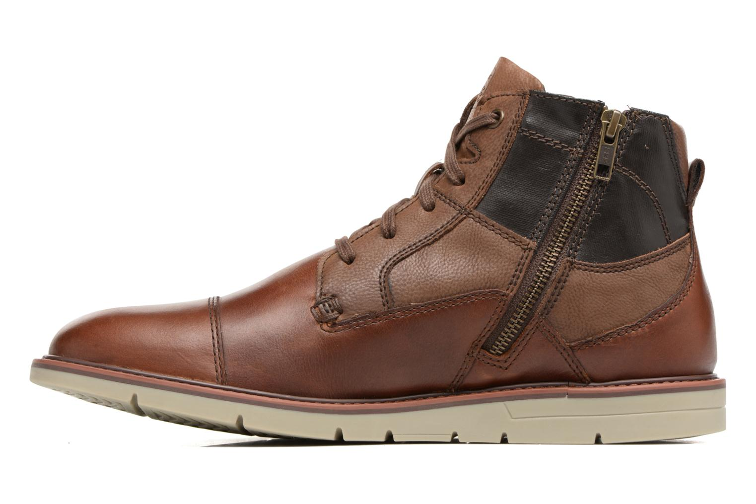Bottines et boots Geox U Uvet D U742QD Marron vue face