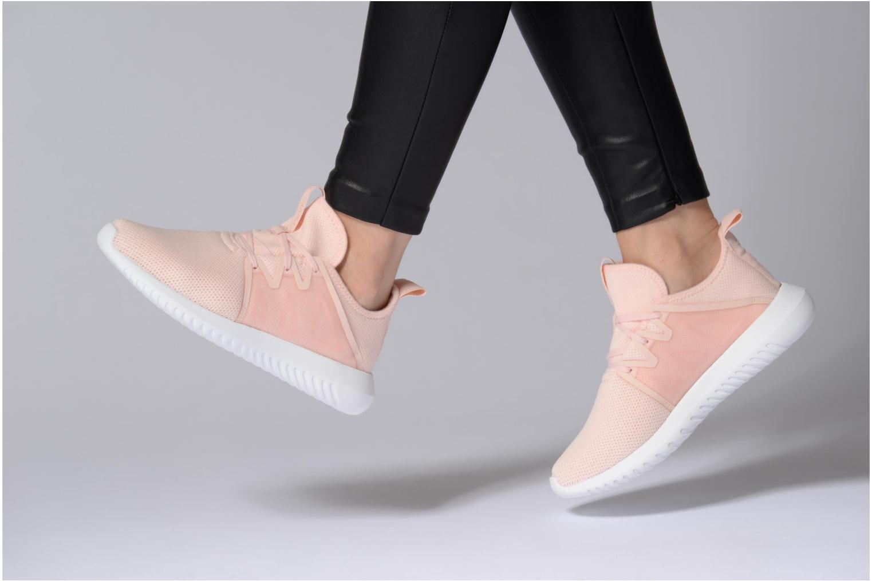 Baskets Adidas Originals Tubular Viral2 W Rose vue bas / vue portée sac