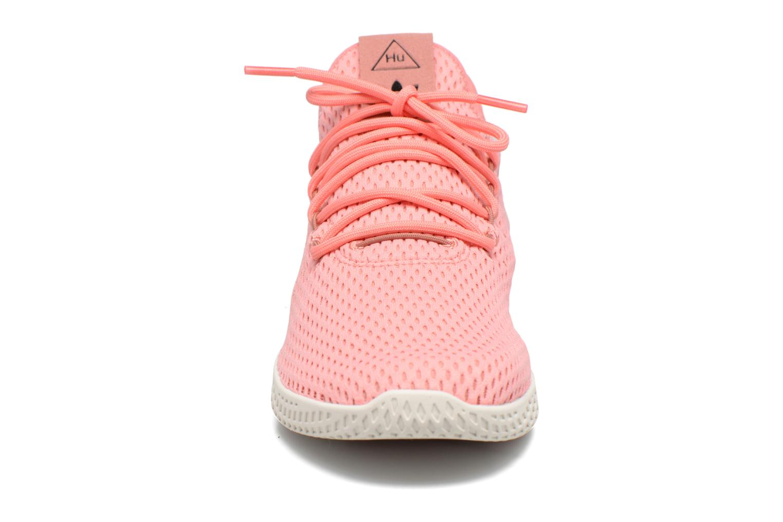 Baskets Adidas Originals Pharrell Williams Tennis Hu Rose vue portées chaussures
