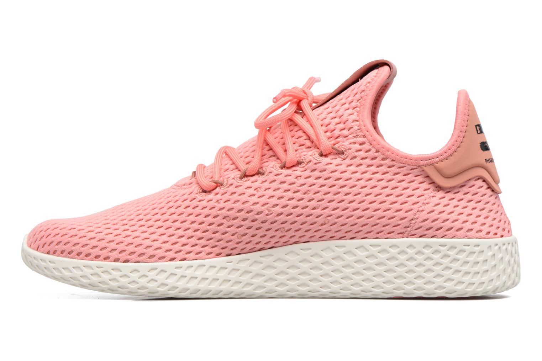 Baskets Adidas Originals Pharrell Williams Tennis Hu Rose vue face