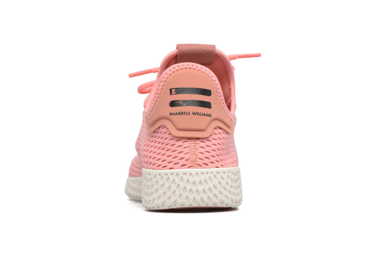 Baskets Adidas Originals Pharrell Williams Tennis Hu Rose vue droite