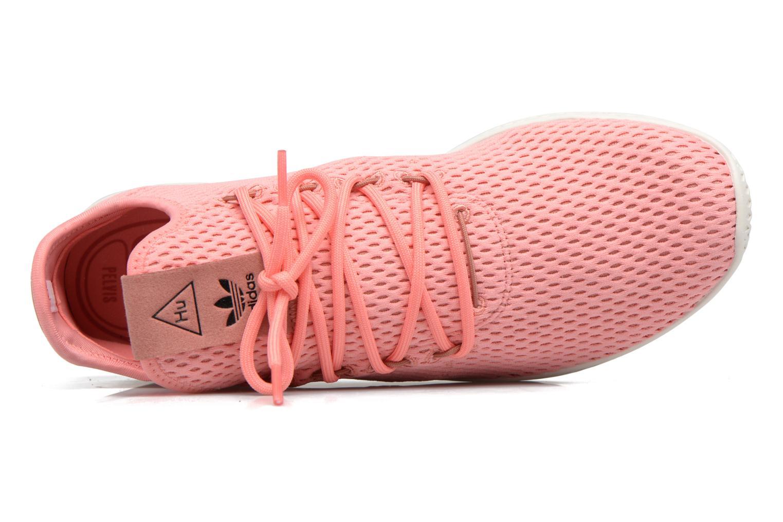 Baskets Adidas Originals Pharrell Williams Tennis Hu Rose vue gauche