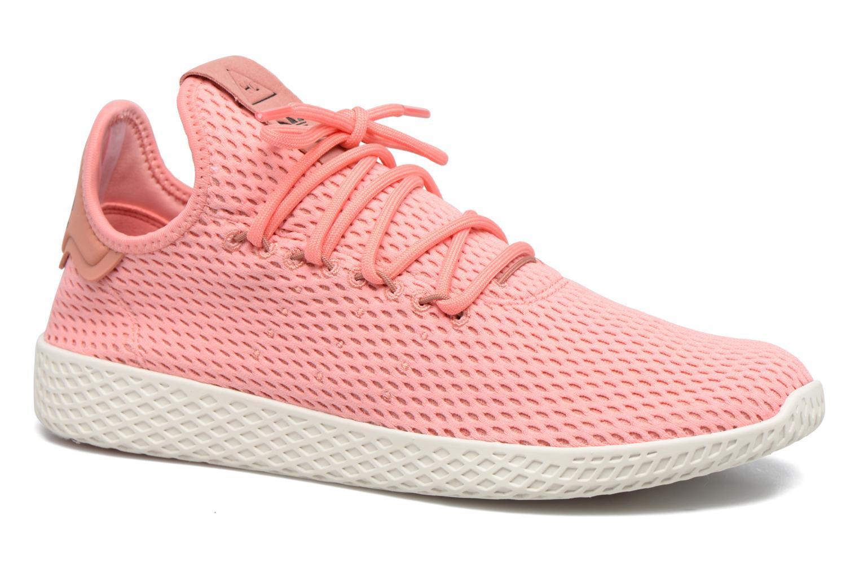 Baskets Adidas Originals Pharrell Williams Tennis Hu Rose vue détail/paire