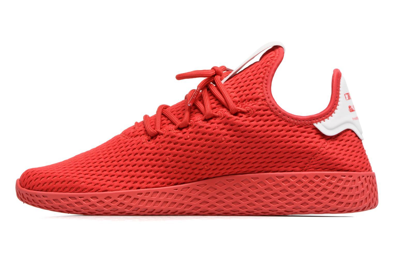 Baskets Adidas Originals Pharrell Williams Tennis Hu Rouge vue face