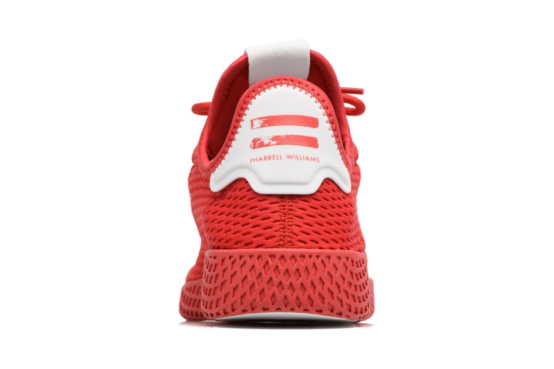 Baskets Adidas Originals Pharrell Williams Tennis Hu Rouge vue droite